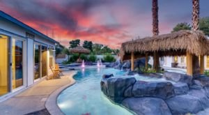 This Tropical-Themed Airbnb In Nevada Comes With Its Own Lazy River And It's Extraordinary