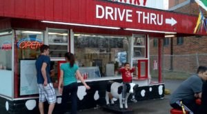 The Drive-Thru Ice Cream Counter At Silver Dairy In Michigan Will Sweeten Up Your Day In A Snap