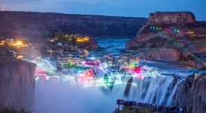 The Snake River Canyon's Beloved Lights And Lasers Show Will Be Returning To Idaho