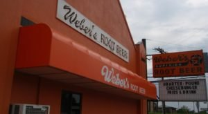 Order Some Of The Best Burgers In Oklahoma At Weber's Root Beer, A Ramshackle Hamburger Stand