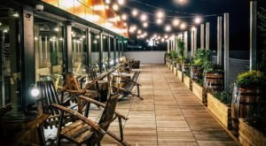 A Scenic Rooftop Beer Garden In Connecticut, Area Two Is A Wonderful Place To Relax