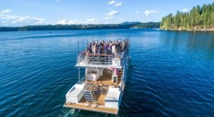 Rent Your Own Two-Story Party Boat In Idaho For An Amazing Time On The Water
