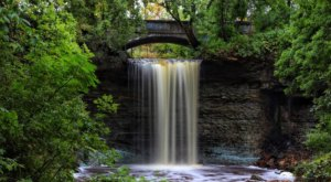 A Quick Detour Is All It Takes To Access One Of Wisconsin's Most Picturesque Waterfalls