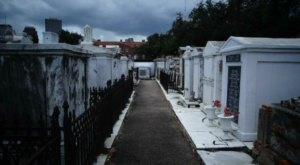St. Louis Cemetery No. 1 Is One Of Louisiana's Spookiest Cemeteries