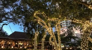 Enjoy Open-Air Dining At Glass And Vine In Florida, A Bungalow By The Bay