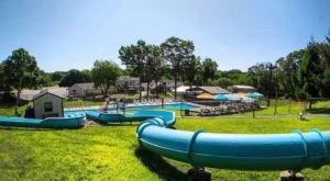 One Of Rhode Island's Coolest Aqua Parks, Yawgoo Valley, Will Make You Feel Like A Kid Again