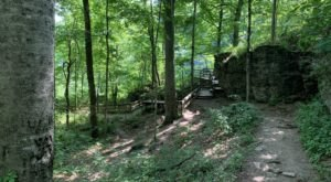 Take An Easy Out-And-Back Trail To Enter Another World At Clifty Falls In Indiana