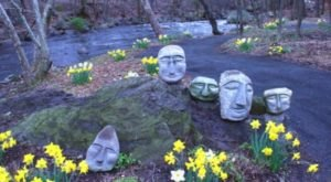 Creekside Sculpture Trail Is An Incredible Spot In New York That Will Bring Out Your Inner Explorer