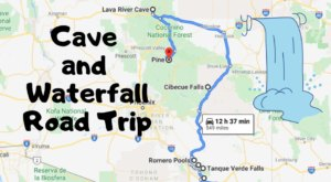 Take This Unforgettable Road Trip To Experience Some Of Arizona's Most Impressive Caves And Waterfalls