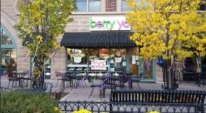 The Vibrant Decor And Scrumptious Desserts At Berry Yo Frozen Yogurt In Illinois Are What Summer Is All About