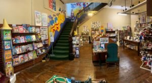 Shop For Used Books In A Historic Building At The Next Page Bookstore In Indiana