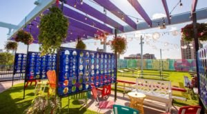Discover An Adult Outdoor Playground That's Like A Dream Come True At Utopian Tailgate In Illinois