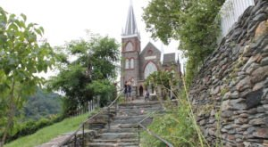 Tackle This One 300-Yard Stairway Trail Past Six Fascinating Historic Sites In West Virginia