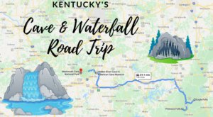 Take This Unforgettable Road Trip To Experience Some Of Kentucky's Most Impressive Caves And Waterfalls