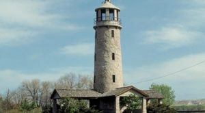 Visit The Dazzling Lake Minatare In Western Nebraska To See The State's Only Lighthouse