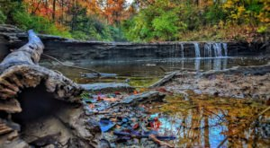 The Kansas Trail Featuring A Little Waterfall Named Angel Falls Is Exactly What We've Been Searching For