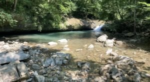 Get Out And Explore The Hidden Waterfall At Tennessee's Stunning Walls Of Jericho Trail