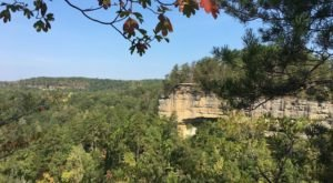 You'll Be Amazed By The Natural Rock Formations And Stunning Views At Pogue Creek Overlook In Tennessee
