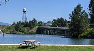 Enjoy Endless Riverside Fun At Q'emiln Park Along The Spokane River In Idaho