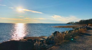 Take A Breezy Nature Walk at Tod's Point, A Peaceful Waterfront Getaway In Connecticut
