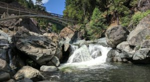 A Quick Detour Is All It Takes To Access One Of Northern California's Most Picturesque Waterfalls