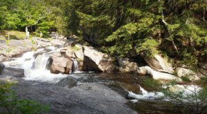 A Quick Detour Is All It Takes To Access One Of New Hampshire's Most Picturesque Waterfalls