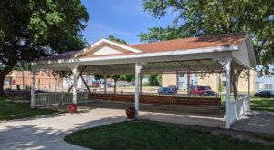 You'd Never Know It, But Hebron Is A Small Nebraska Town That Has The World's Largest Porch Swing