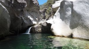Swim Underneath A Waterfall At This Refreshing Natural Pool In Northern California
