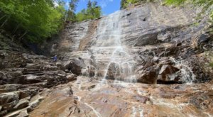 The Short And Sweet Arethusa Falls Trail Leads To The Tallest Waterfall In New Hampshire