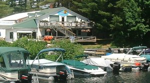 Grab Some Seafood And Rent A Kayak At Loons Nest Restaurant In Maine