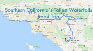 Spend The Day Exploring Southern California's Tallest Falls On This Wonderful Waterfall Road Trip