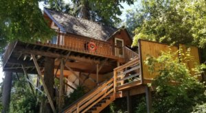 Stay Overnight At This Spectacularly Unconventional Treehouse In Washington