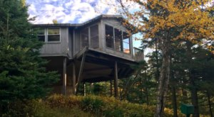 Stay Overnight At This Spectacularly Unconventional Treehouse In Minnesota
