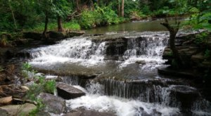 Catch A Glimpse Of A Secluded Waterfall When You Visit Little-Known Red Rock Falls County Park In Minnesota