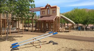 With A Themed Playground, Hiking Trails, And Scenic Views, Exploration Park In Nevada Is A Great Family Outing