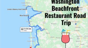 Take This Beachfront Restaurant Road Trip In Washington Where You Can Eat With Your Toes In The Sand
