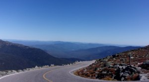 The Mt. Washington Auto Road Is 7.6 Miles Of White Knuckle Driving In New Hampshire That's Not For The Faint Of Heart