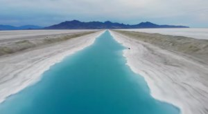 This Brilliant Blue Canal In Utah Is Popular On Social Media, But Might Be Dangerous To Visit