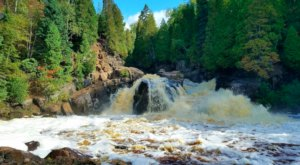 A Short But Beautiful Hike, Cascades Waterfall Trail Leads To A Little-Known Waterfall In Minnesota