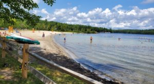 Lake Sunapee Beach Has Some Of The Clearest Water In New Hampshire