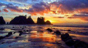 Shi Shi Beach Is A Little-Known Washington Destination With An Otherwordly Landscape