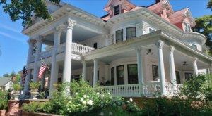 Spend The Night In A Historic 45-Room Mansion When You Stay At Michigan's Laurium Manor Inn