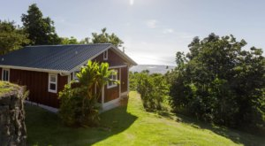Spend The Night On A Secluded Coffee Farm When You Stay At This Charming Cottage