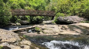 Walk Over A Gorgeous Bridge On The Chattooga River Trail, A Moderate 3.8-Mile Hike In North Carolina