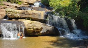 Swim Underneath A Waterfall At This Refreshing Natural Pool In South Carolina
