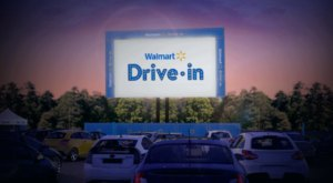 Special Drive-In Theaters For Families Will Be At Walmart Stores Across The Nation, And You Can Find Them In South Carolina