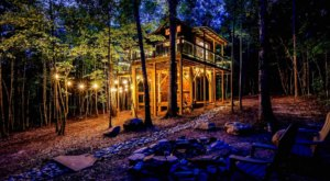 Stay Overnight At This Spectacularly Unconventional Treehouse In South Carolina