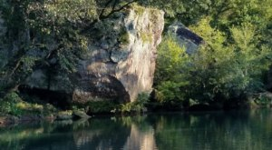 This Swimming Hole In Arkansas Is So Hidden You'll Probably Have It All To Yourself