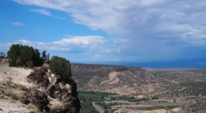 Off The Beaten Path In New Mexico, Overlook Point Lets You See For Miles