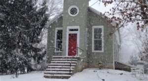 This Old Country Church Is Now A Cozy Place To Stay The Night In Maryland